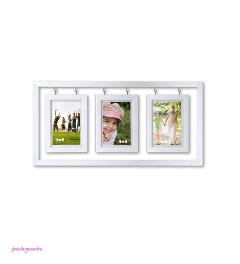 Buy Art Street White Edge Drop Frame(Hanging Frame 4X6) Online ...