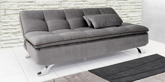 Ariana Soft Sofa Bed In Light Grey Color By Furny