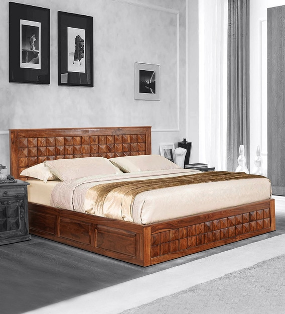 Aragorn King Size Bed With Storage, King Size Bed Furniture