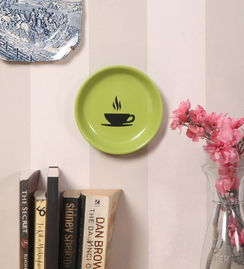 Multicolour Melamine Dish Wall Hanging by Art ka keeda