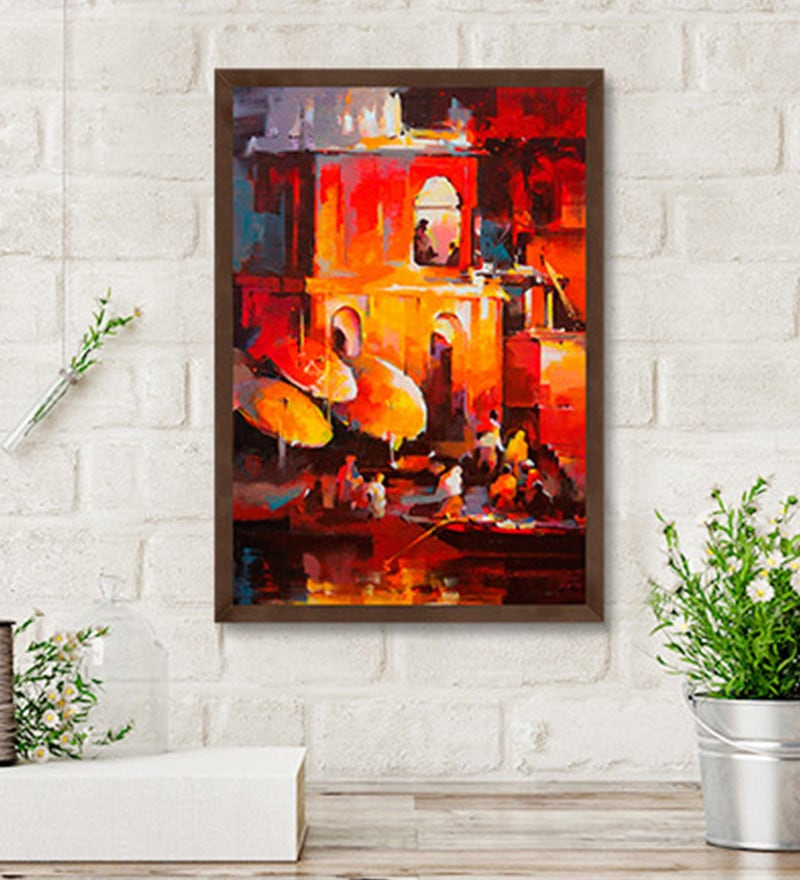 Canvas 21 x 31.5 Inch Untitled Framed Limited Edition Digital Art Print by Satheesh Kanna by ArtCollective