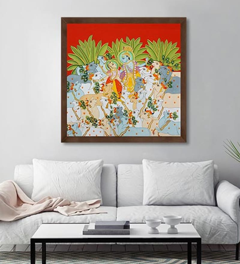 Canvas 24 x 24 Inch Untitled Framed Limited Edition Digital Art Print by Yugdeepak Soni by ArtCollective