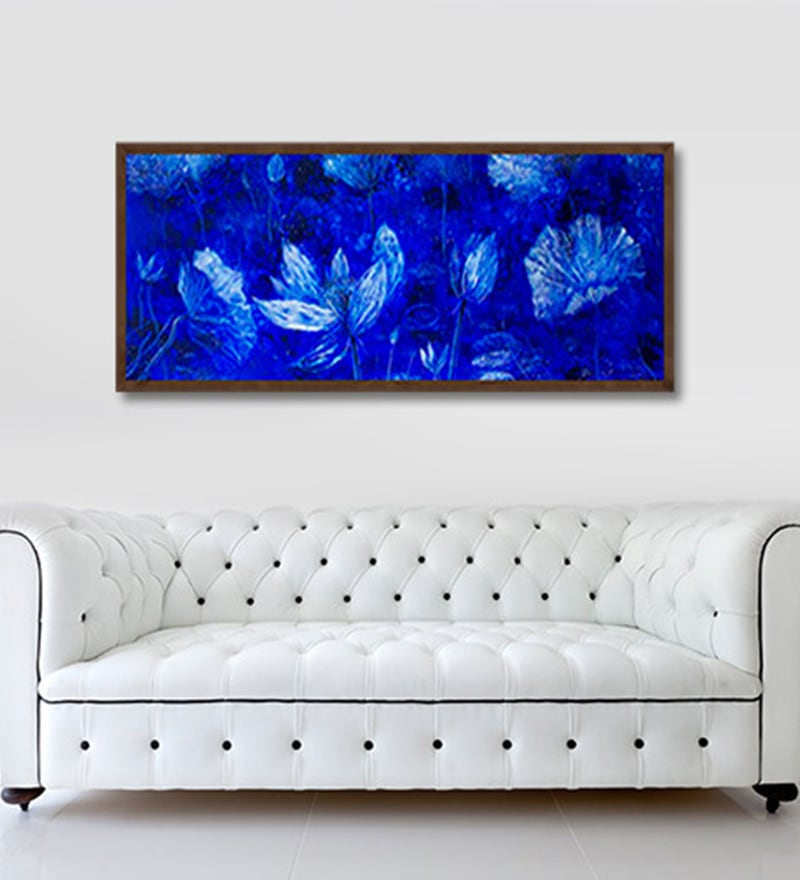 Canvas 30 x 12 Inch Untitled Framed Limited Edition Digital Art Print by Suresh Pushpanganthan by ArtCollective