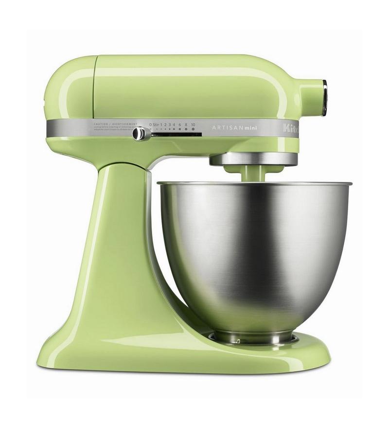 Artisan Mini Stand Mixer Honey Dew 5KSM3311XBHW by KitchenAid