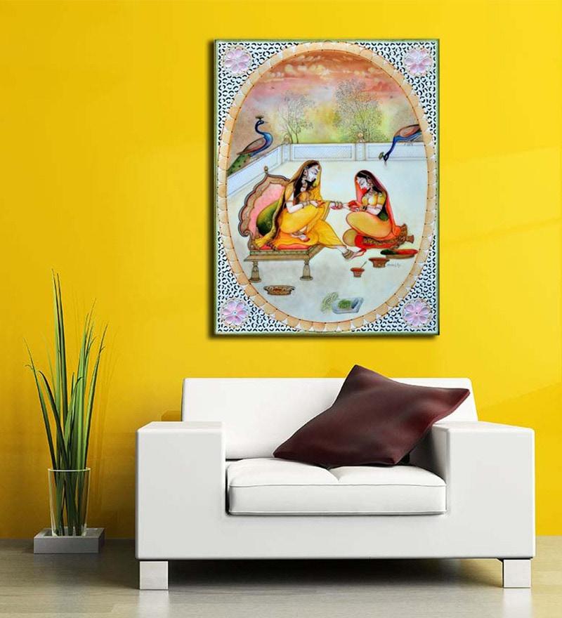 Nice Mehndi Wall Art Composition - Art & Wall Decor - hecatalog.info