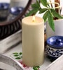 Cinnamon Scented Colour Pillar Candle by Aroma India