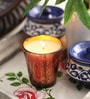 Golden Wax & Glass Designer Votive Candle by Aroma India