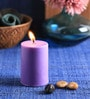 Lavender Scented Pillar Candle by Aroma India