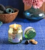Lemon Grass Bell Candle by Aroma India