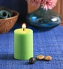 Lemongrass Scented Pillar Candle by Aroma India