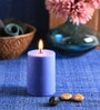 Ocean Breeze Scented Pillar Candle by Aroma India