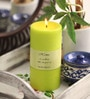 Aroma India Vanilla French Scented Colour Pillar Candle
