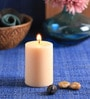 Vanilla Scented Pillar Candle by Aroma India