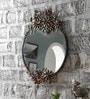 Art Creation Brown Metal Mirror