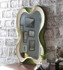Multicolour Solid Wood Decorative Mirror by Art Creation