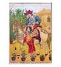 Original Oleograph - Ravi Varma Press(1892-1972) -Chalbatau Mohanarani - 10 X 14 Inch on Paper