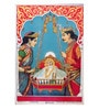 Original Oleograph - Ravi Varma Press(1892-1972) -Shri Ram Janm - 10 X 14 Inch on Paper