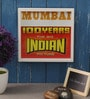 Art Ka Keeda Glass 9 x 9 Inch My Mumbai Cinema Framed Wall Art