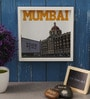 Art Ka Keeda Glass 9 x 9 Inch My Mumbai Taj Hotel Framed Wall Art