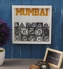 Art Ka Keeda Glass 9 x 9 Inch My Mumbai Traffic Signs Framed Wall Art