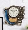 Multicolour MDF Wall Clock by Art of Jodhpur