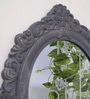 Grey MDF Victorian Riviera Decorative Wall Mirror by Art Street