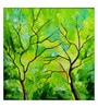 Art Zolo Canvas 12 x 12 Inch Season Green Unframed Artwork Painting