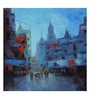Art Zolo Canvas 24 x 24 Inch Cityscape Vi Unframed Artwork Painting