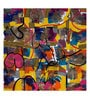 Art Zolo Canvas 30 x 30 Inch Urban Glimpses Unframed Artwork Painting