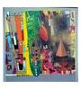 Art Zolo Canvas 30 x 30 Inch Urban Phulkari 8 Unframed Artwork Painting