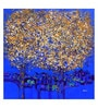 Art Zolo Canvas 36 x 36 Inch Golden Tree of Life Unframed Artwork Painting