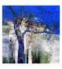 Art Zolo Canvas 36 x 36 Inch Nature Tree Unframed Artwork Painting