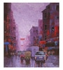 Art Zolo Canvas 36 x 42 Inch After Rain in Kolkata I Unframed Artwork Painting