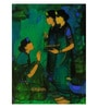 Art Zolo Canvas 36 x 48 Inch Three Women Unframed Artwork Painting