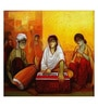 Art Zolo Canvas 40 x 40 Inch Indian Musicians Unframed Artwork Painting