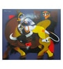 Art Zolo Canvas 42 x 36 Inch Flute Unframed Artwork Painting