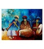 Art Zolo Canvas 48 x 36 Inch Indian Musicians Iii Unframed Artwork Painting
