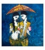 Art Zolo Canvas 48 x 48 Inch Under The Umbrella Unframed Artwork Painting