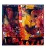 Art Zolo Canvas 55 x 55 Inch Urban Mirage I Unframed Artwork Painting