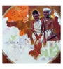 Art Zolo Gold Foil on Canvas 24 x 24 Inch Couple Unframed Artwork Painting