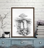 ArtCollective Canvas 15 x 20 Inch Untitled Framed Limited Edition Digital Art Print by Krishna Zingade