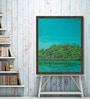 Canvas 20 x 25 Inch Bird Siesta Framed Limited Edition Digital Art Print by Usha Shantaram by ArtCollective