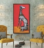 Canvas 22 x 44 Inch My Pet Framed Limited Edition Digital Art Print by Manish Bobade by ArtCollective