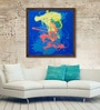 ArtCollective Canvas 24 x 24 Inch Sea Scape Framed Limited Edition Digital Art Print by Avtar Singh