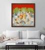 ArtCollective Canvas 24 x 24 Inch Untitled Framed Limited Edition Digital Art Print by Yugdeepak Soni