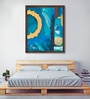Canvas 24 x 30 Inch Circle of Life - I Framed Limited Edition Digital Art Print by Amaey Parekh by ArtCollective