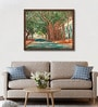 Canvas 25 x 20 Inch Morning Shadows Framed Limited Edition Digital Art Print by Usha Shantaram by ArtCollective