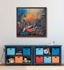 Canvas 27 x 27 Inch Composition - 1 Framed Limited Edition Digital Art Print by Arpita Chandra by ArtCollective