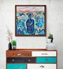 Canvas 27 x 27 Inch Composition - 2 Framed Limited Edition Digital Art Print by Arpita Chandra by ArtCollective