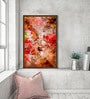 Canvas 27 x 37 Inch Fall Textures Framed Limited Edition Digital Art Print by Parbbonni Bhowmik by ArtCollective